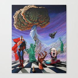 CHECKMATE Canvas Print