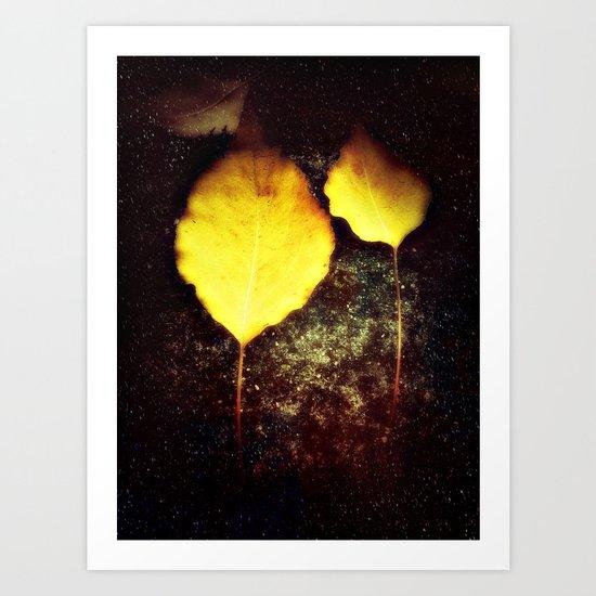 I'll be your leaf  Art Print