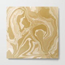 marbled / no.8 Metal Print