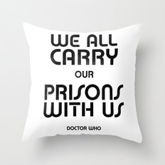 We All Throw Pillow