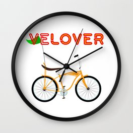 VeLover – Chopper – June 12th – 200th Birthday of the Bicycle Wall Clock