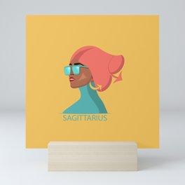 Zodiac Sagitarius Mini Art Print