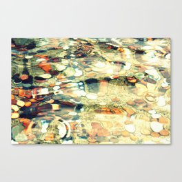 Pennies 3 Canvas Print