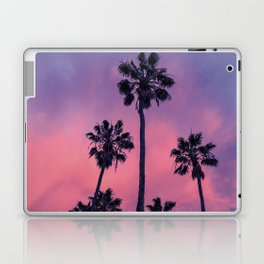 Palm trees and Sunset Laptop & iPad Skin