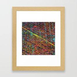 Nightheart Black Framed Art Print