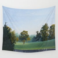 tennessee Wall Tapestries featuring Country Morning in Tennessee by Applegate's Arts
