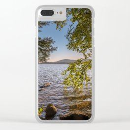 Secret Place By The Lake Clear iPhone Case