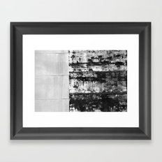 Black and White Abstract No. 0582 Framed Art Print
