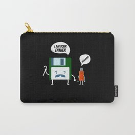 FLOPPY DISC AND USB STICK I AM YOUR FATHER NOO FUN Carry-All Pouch