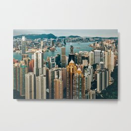 Golden Harbour Metal Print