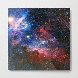 Carnia Nebula Metal Print