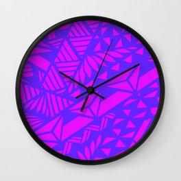 PinkTribal Wall Clock