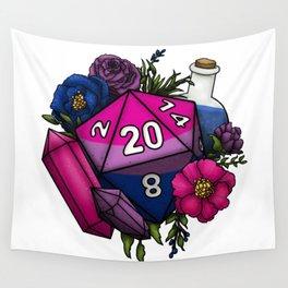 Pride Bisexual D20 Tabletop RPG Gaming Dice Wall Tapestry