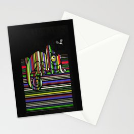Novice chameleon Stationery Cards