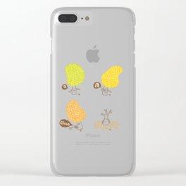 Season sneeze Clear iPhone Case