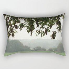 Cutting The Grass Rectangular Pillow