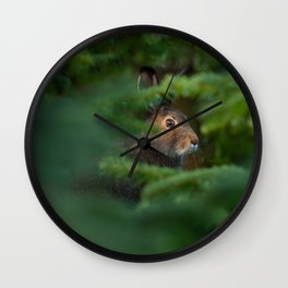 Jackrabbit Wall Clock
