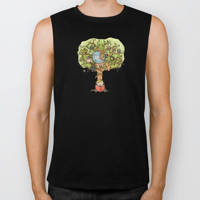 StoryTime Tree Biker Tank