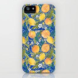 Citrus Swirl iPhone Case