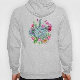 Exotic flower garden II Hoody