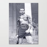 gladiator Canvas Prints featuring The Gladiator by Pablo-chester Photography