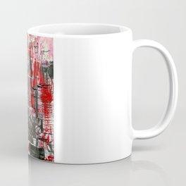 Red Cityscape Coffee Mug