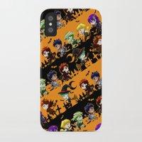 kuroko iPhone & iPod Cases featuring Kurobasu Halloween by mao00mao & darkson