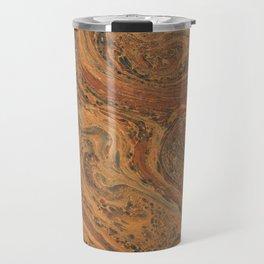 Bronze Painting Marble Travel Mug