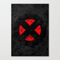 xmen Canvas Prints featuring XMen by sambeawesome