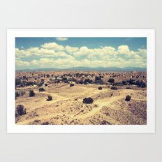 New Mexico 4 Art Print