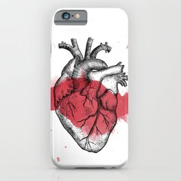 Anatomical heart - Art is Heart  iPhone Case