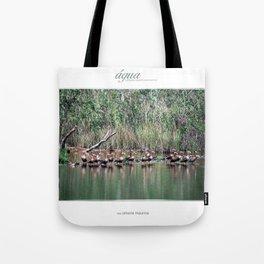 """coleção quatro elementos """"água"""" Tote Bag"""