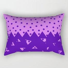 Triangle and  Circles Rectangular Pillow