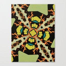 Comic Explosion Print Canvas Print