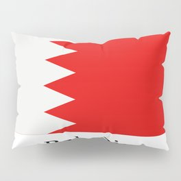 bahrain flag Pillow Sham