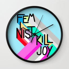 Might As Well Advertise Wall Clock