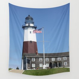 Montauk Lighthouse Wall Tapestry