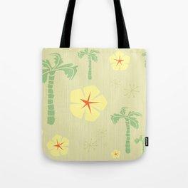Midcentury Tiki Print Hawaii Retro Vintage Tote Bag