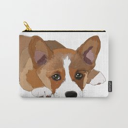 All I Need is Coffee & My Corgi Carry-All Pouch