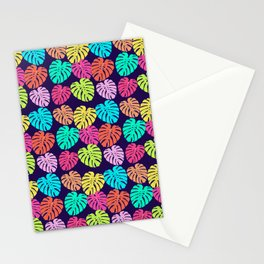 Monstera Deliciosa Print Stationery Cards
