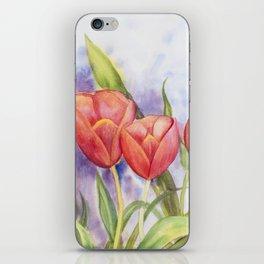 Diane L - Les tulipes iPhone Skin