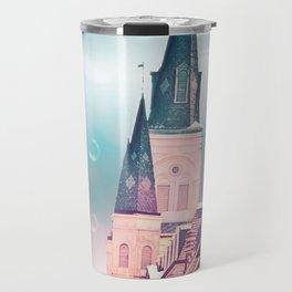 Surreal St. Louis Cathedral Travel Mug