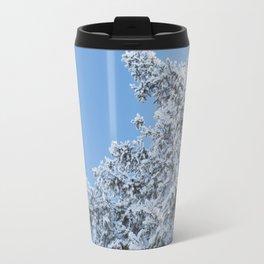 Frosted Tree 2 Travel Mug