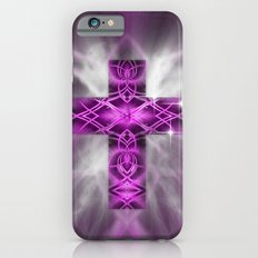 Purple Cross iPhone 6s Slim Case