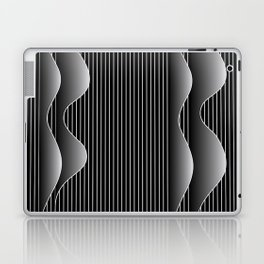night waves Laptop & iPad Skin