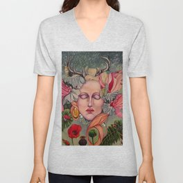 Natures Lament, Any Regrets? Unisex V-Neck