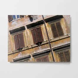 The Word for Window Metal Print