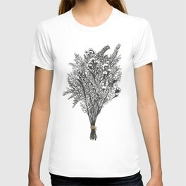Dry Bouquet with Gold String T-shirt