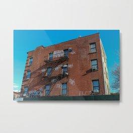 Brooklyn Building Metal Print