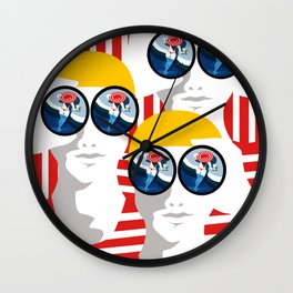 The Observers Wall Clock